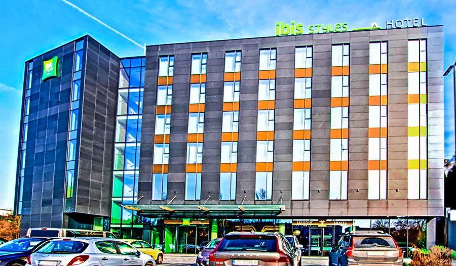 Fasada Hotelu Ibis Styles Lublin, do galerii zdjęć