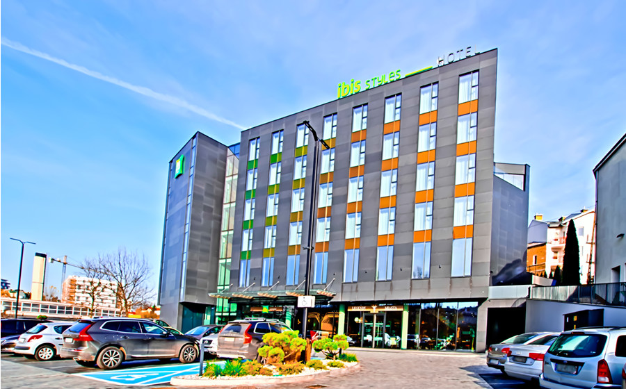Perspektywa Hotelu Ibis Styles Lublin - zdjęcie do galerii