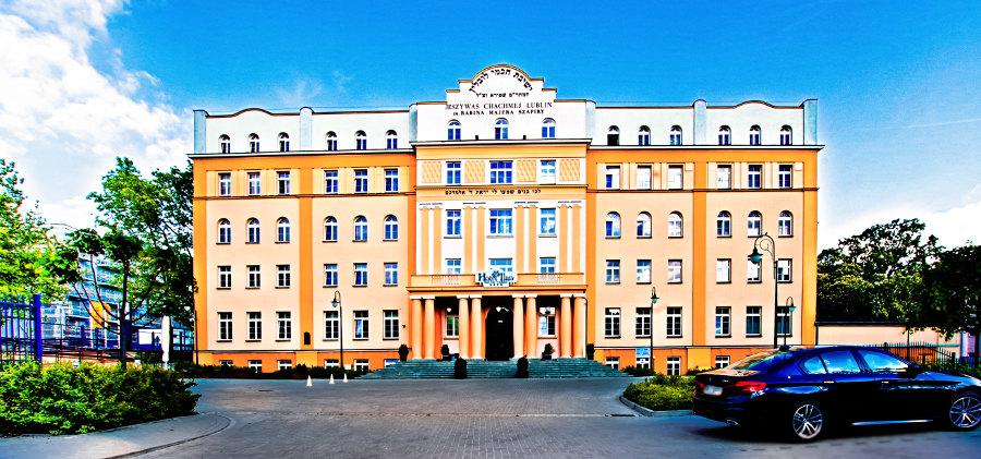 Hotel Ilan w Lublinie - zdjęcie z daleka do galerii