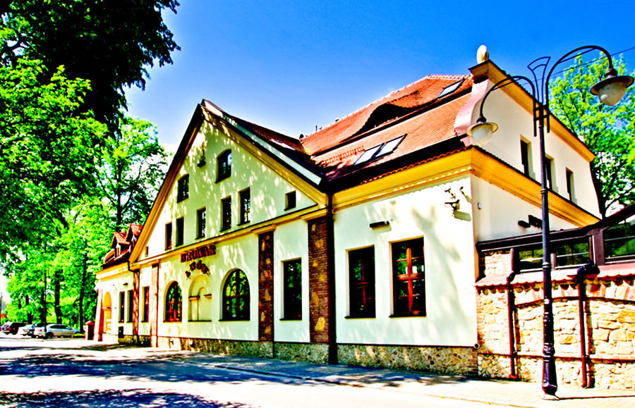 Perspektywa fasady bocznej Hotelu Lwów w Lublinie - zdjęcie do galerii