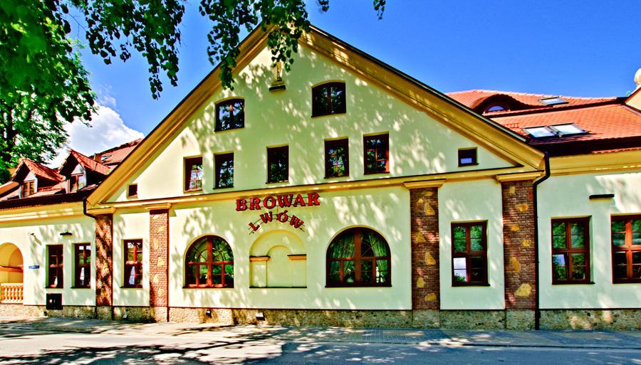 Fasada Hotelu Lwów w Lublinie - zdjęcie do galerii