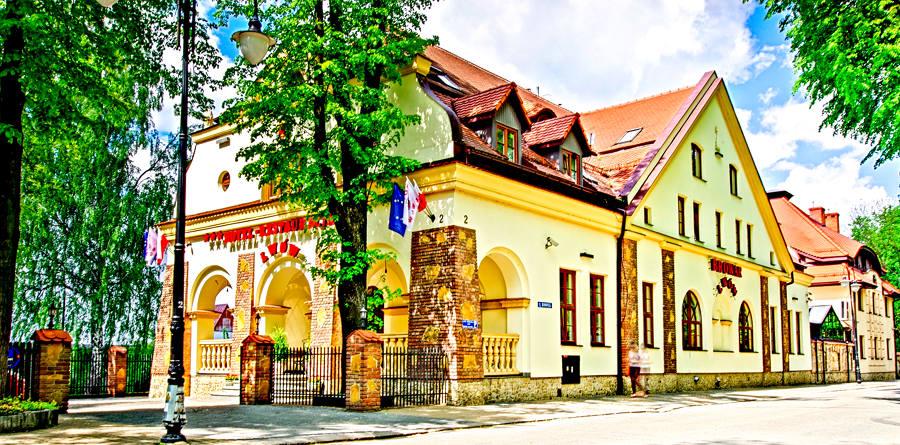 Perspektywa Hotelu Lwów w Lublinie - zdjęcie do galerii
