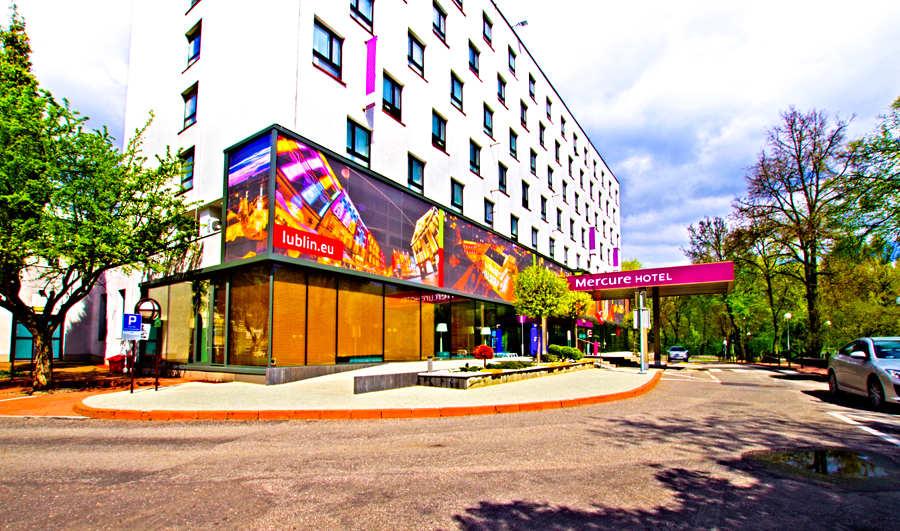 Hotel Mercure w Lublinie - zdjęcie w perspektywie do galerii
