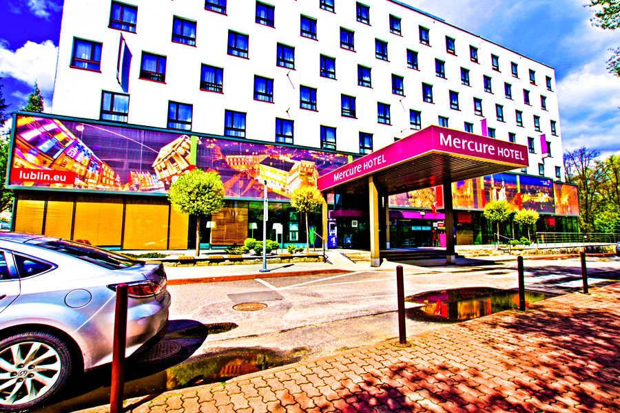 Hotel Mercure w Lublinie - zdjęcie fasady do galerii