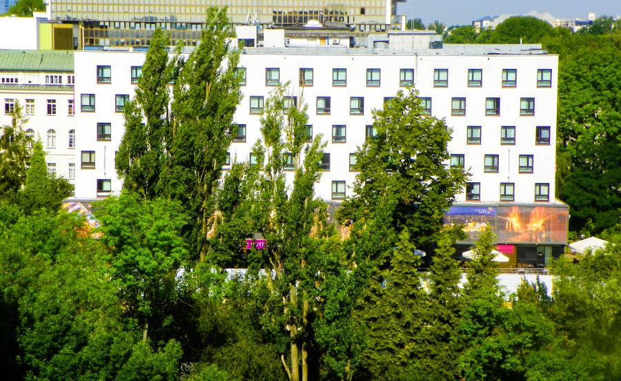 Hotel Mercure w Lublinie - zdjęcie do galerii z tarasu