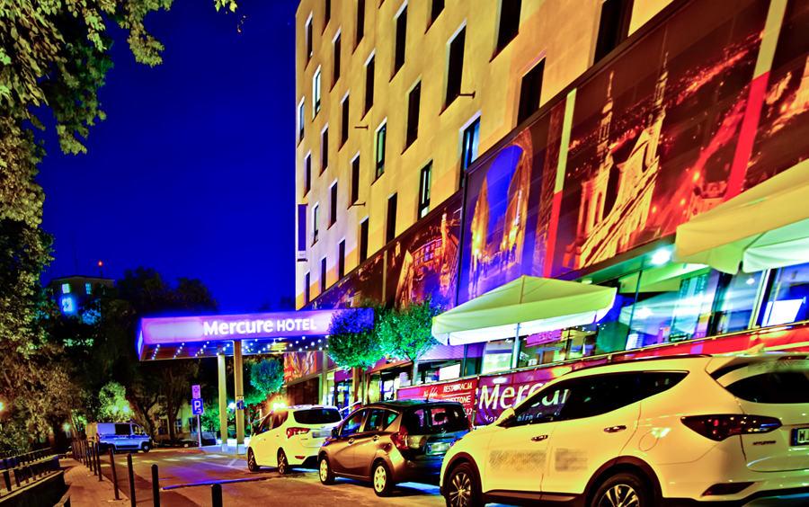 Hotel Mercure w Lublinie - zdjęcie nocne do galerii