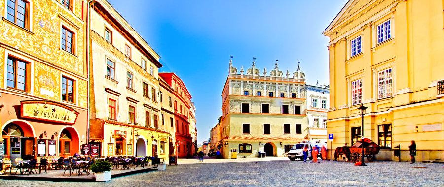 Hotel Trybunalska w Lublinie z Rynkiem Starego Miasta - zdjęcie do galerii