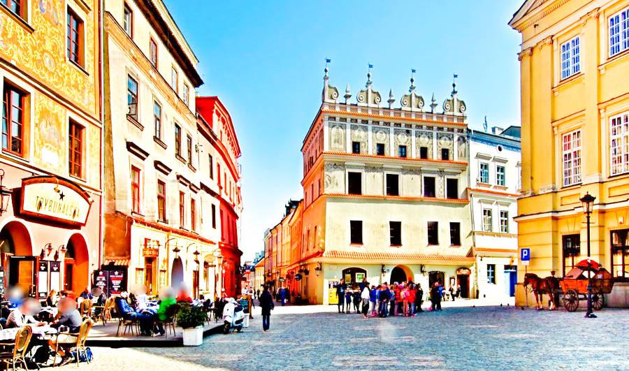 Hotel Trybunalska i Rynek w Lublinie, do galerii zdjęć