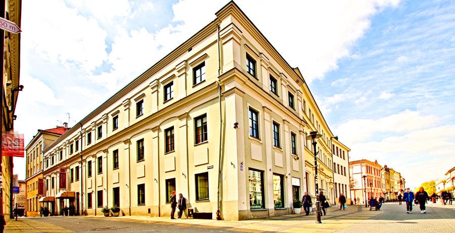 Perspektywa Hotelu Vanilla w Lublinie na zdjęciu do galerii