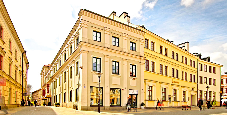Hotel Vanilla w Lublinie - zdjęcie z bliska do galerii
