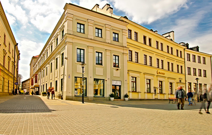 Hotel Vanilla w Lublinie - zdjęcie fasady, do galerii
