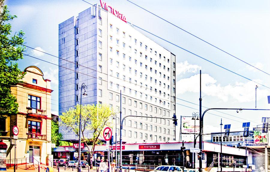 Widok na Hotel Victoria w Lublinie - zdjęcie do galerii