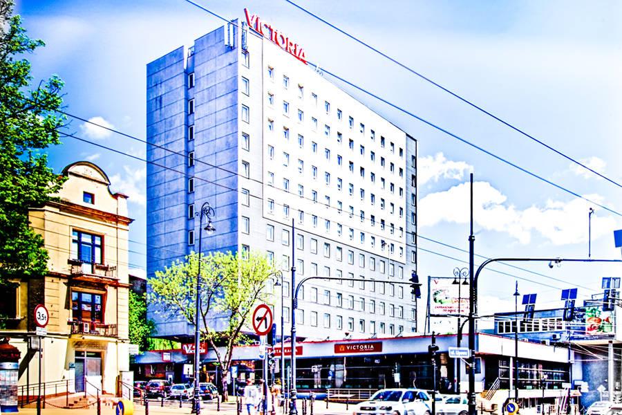 Hotel Victoria w Lublinie - zdjęcie z daleka do galerii
