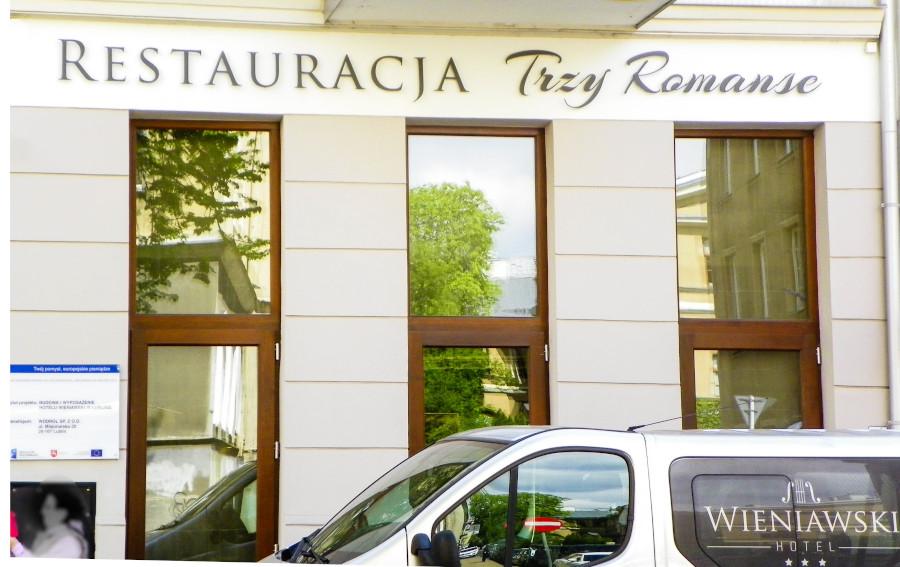 Restauracja Hotelu Wieniawski w Lublinie - zdjęcie do galerii