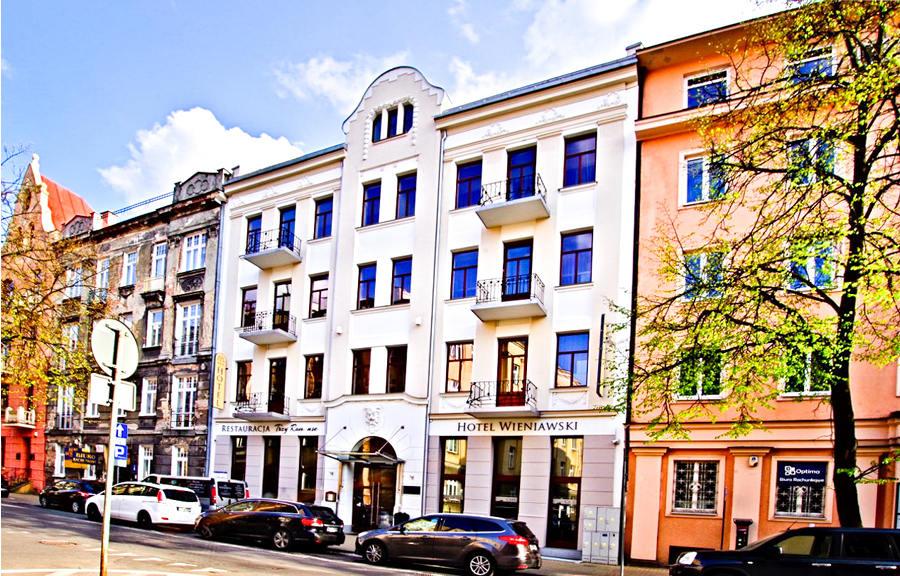 Ulica Sądowa w Lublinie z Hotelem Wieniawski - zdjęcie do galerii