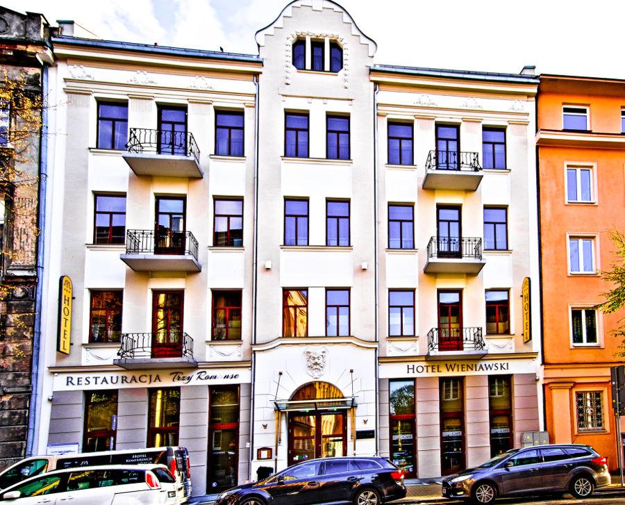 Hotel Wieniawski w Lublinie - zdjęcie do galerii