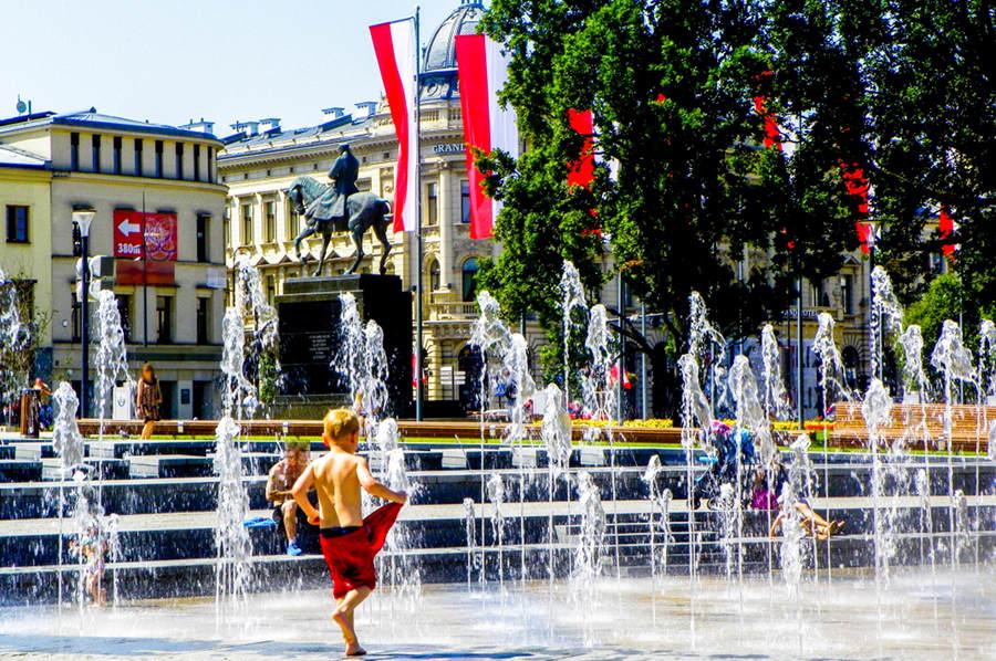 Wodne swawole obok IBB Grand Hotelu Lublinianka - zdjęcie do galerii