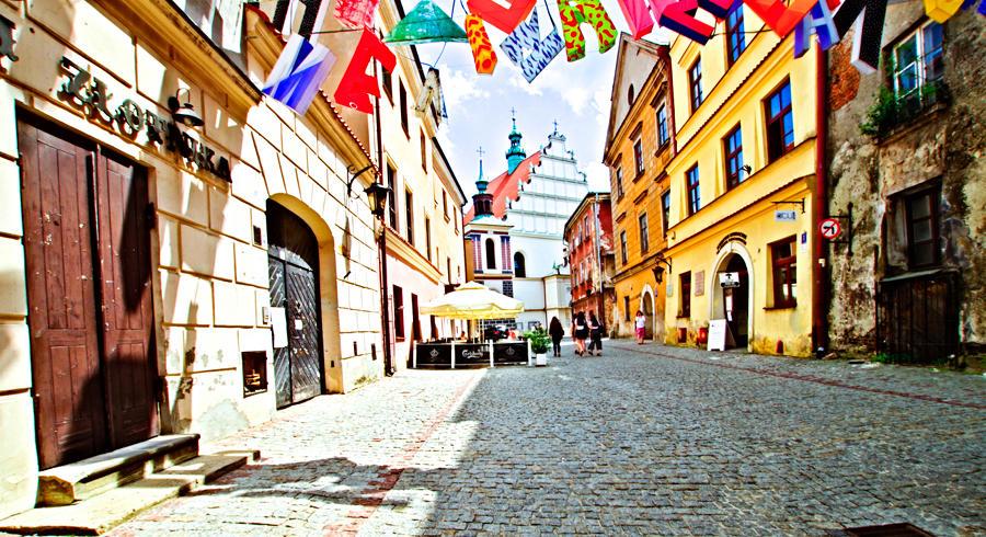 Zabytkowe otoczenie Apartamentów Nr 6 w Lublinie, do galerii zdjęć