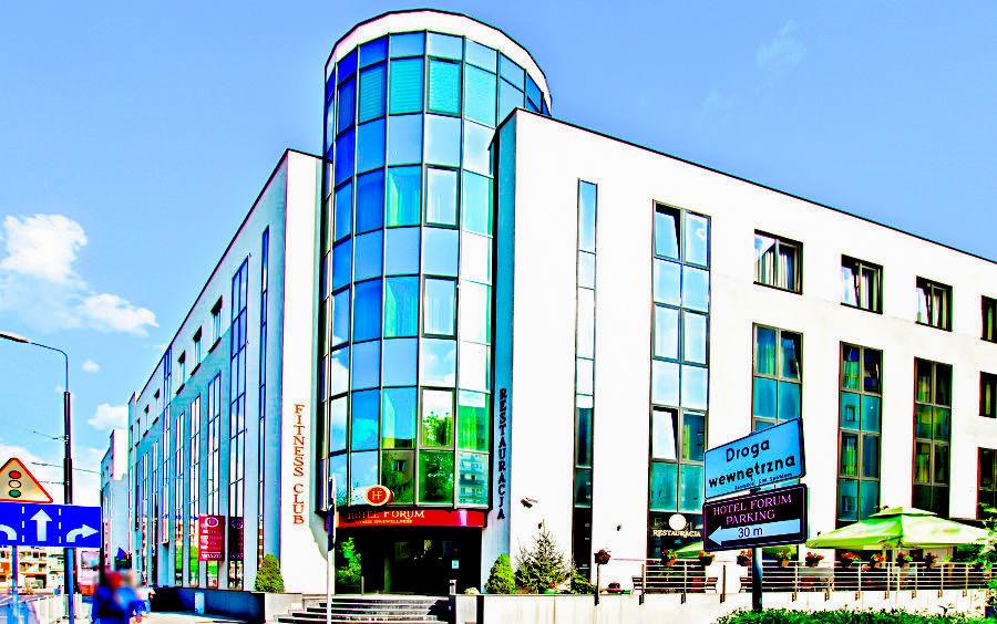 Perspektywa Hotelu Forum w Lublinie - zdjęcie do galerii