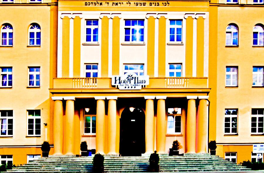 Hotel Ilan w Lublinie - fragment fasady na zdjęciu do galerii