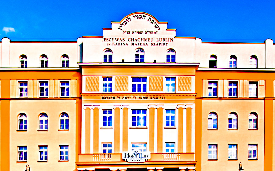 Fronton Hotelu Ilan w Lublinie - zdjęcie do galerii