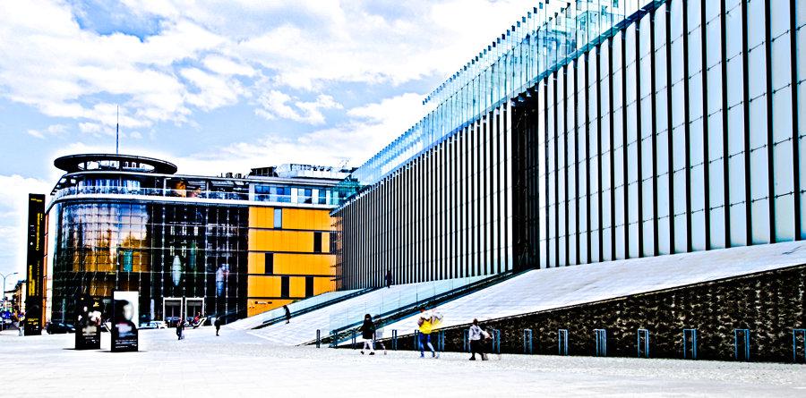 Atrakcje turystyczne Lubiina - zdjęcie Centrum Spotkania Kultur i Lubelskiego Centrum Konferencyjnego