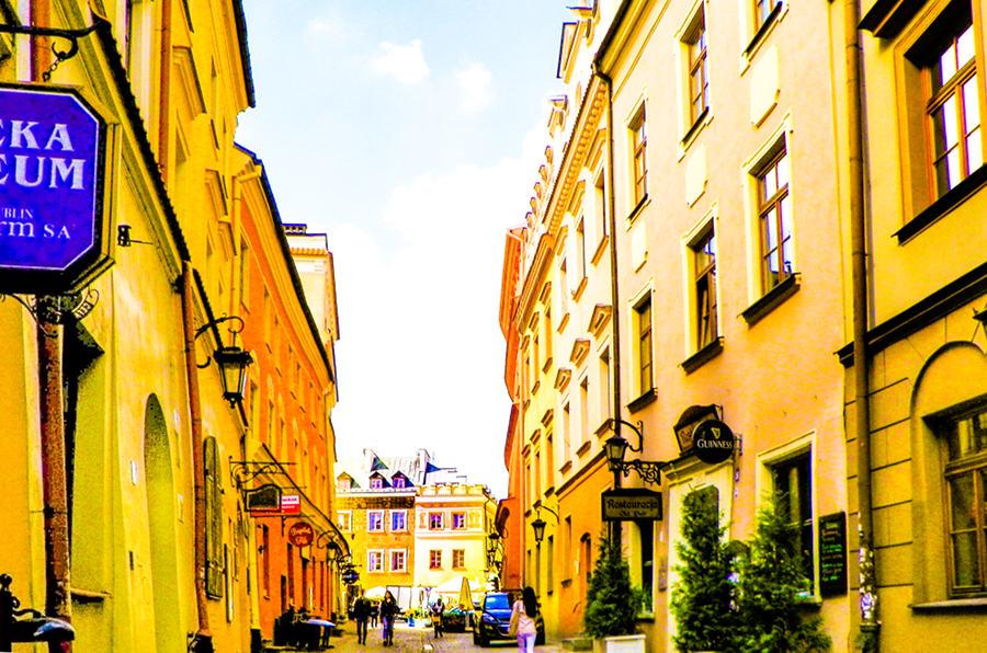 Atrakcje turystyczne Lublina - zdjęcie drogi do Rynku Starego Miasta