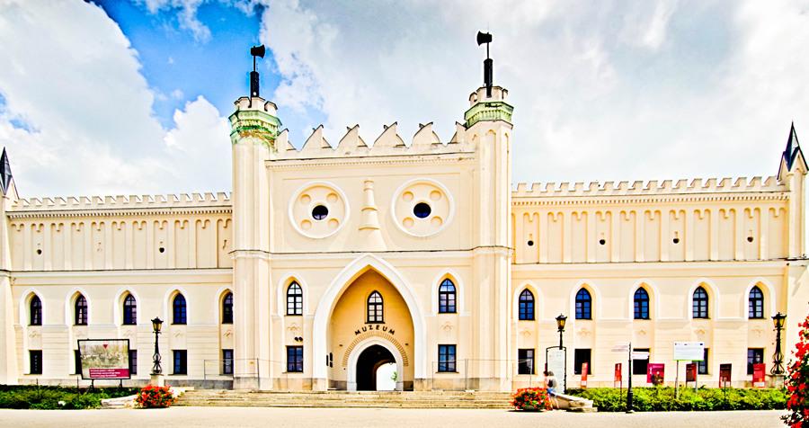 Atrakcje turystyczne Lublina - zdjęcie fasady Zamku Lubelskiego