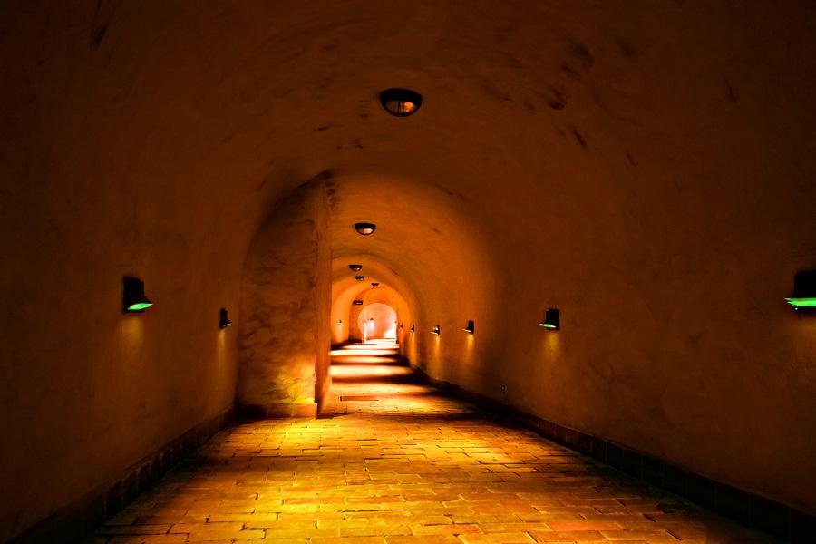 Atrakcje turystyczne Lublina - zdjęcie w podziemiach Starego Miasta