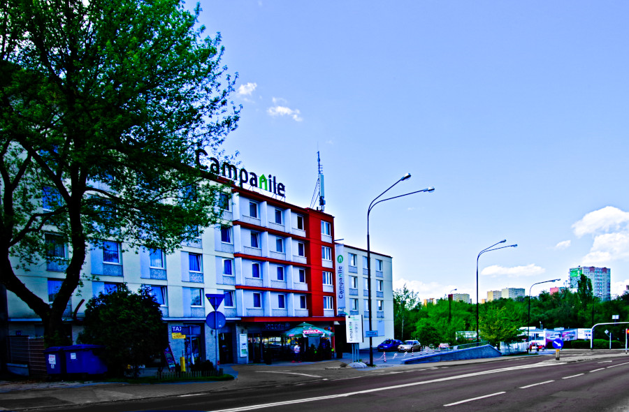 Hotel Campanile Lublin z ul.Lubomelską - zdjęcie do galerii