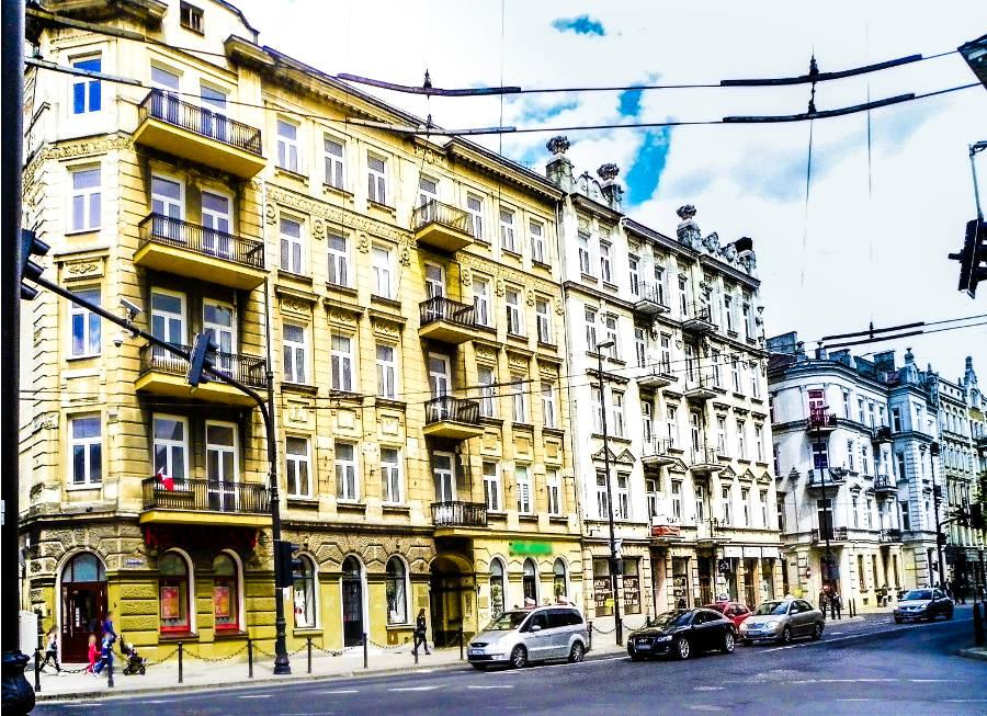 Kamienica niedaleko Hotelu Campanile Lublin - zdjęcie do galerii