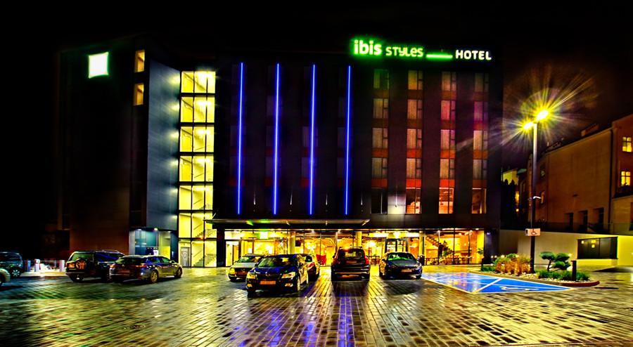 Hotel Ibis Styles Lublin - zdjęcie po deszczu